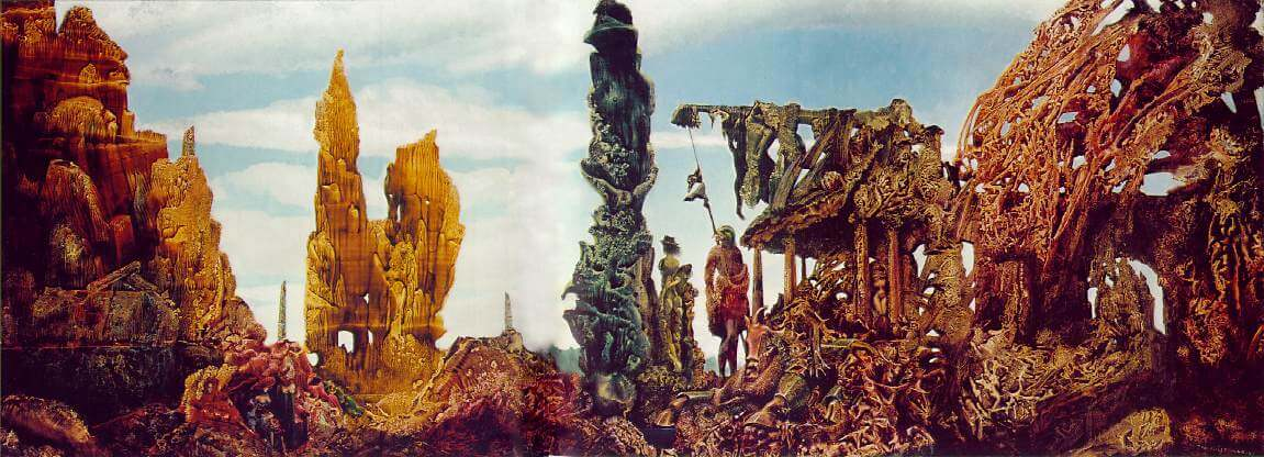 Europe after the Rain II, 1940-42 - by Max Ernst