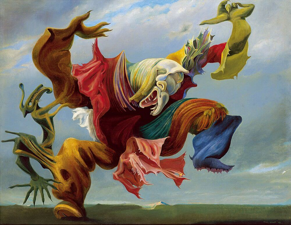 The Triumph of Surrealism, 1973 - by Max Ernst