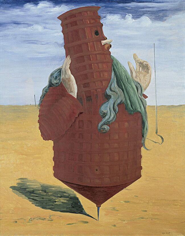 Ubu Imperator, 1923 - by Max Ernst